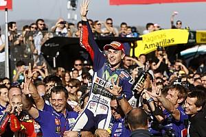 MotoGP Contenu spécial Bilan 2015 - La folle saison de Jorge Lorenzo