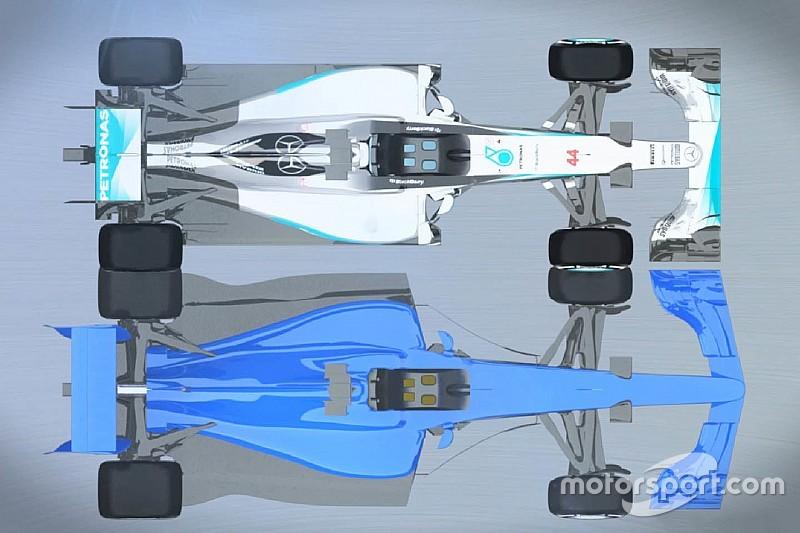 Video: veja como será um F1 em 2017