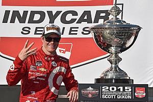 IndyCar Artículo especial Las historias de 2015; #13: Dixon arrebata a Montoya título de Indy Car