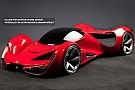 كيف سيكون شكل سيارة فيراري في 2040