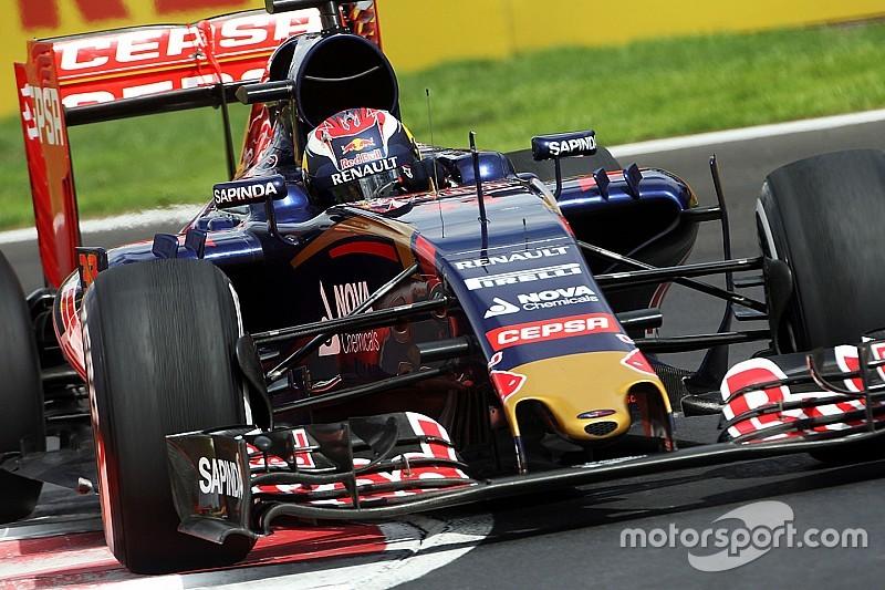 Toro Rosso onderweg naar auto met langere wielbasis