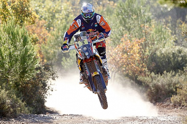 Dakar Bikes, Stage 2: Price takes lead on shortened stage