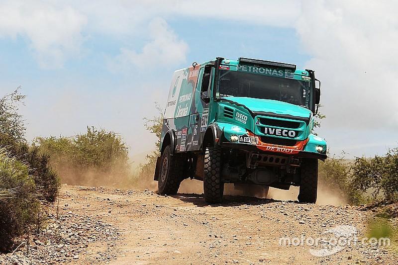 Dakar trucks: De Rooy wint vierde etappe, weer Nederlands podium