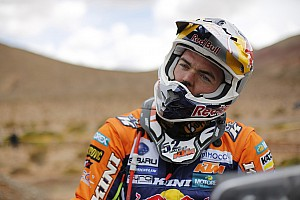Dakar Interview Price: It's time to start attacking the Honda riders