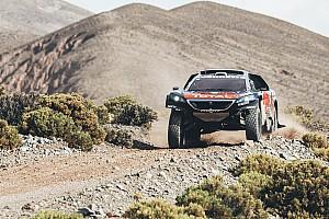 Dakar Breaking news Two punctures, stuck throttle nullify Loeb's Dakar lead