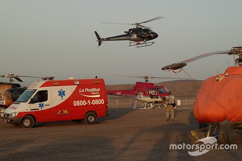 300 personas en el servicio médico en Uyuni