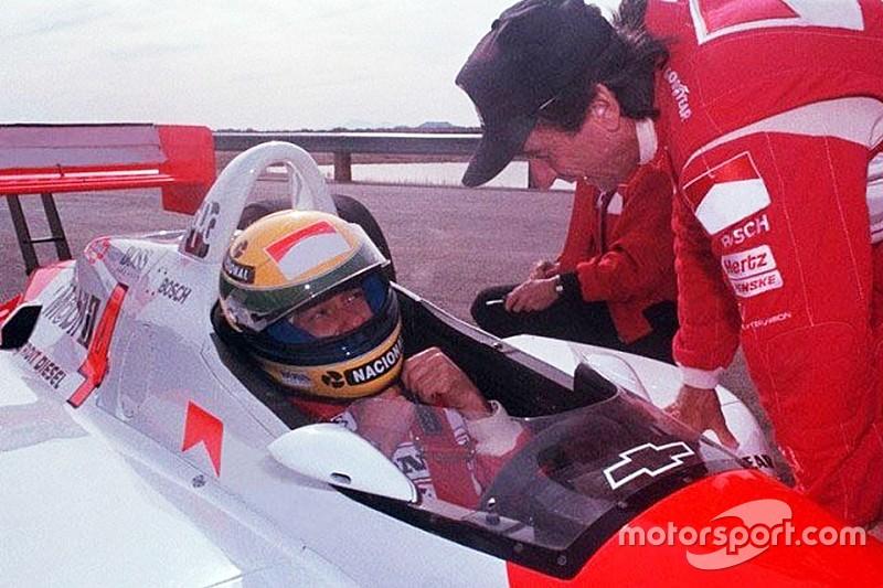 El día que Ayrton Senna probó un Penske Indy car