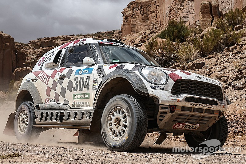 """Roma: Dakar """"difficult"""" with inexperienced co-driver"""