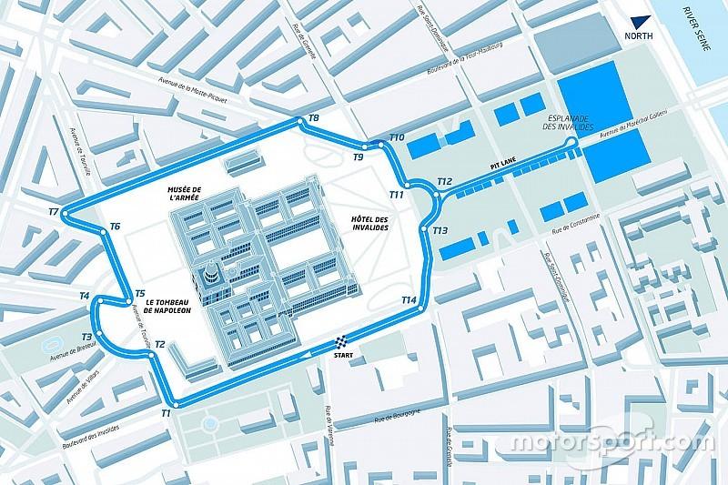 Formula E unveils Paris ePrix circuit layout