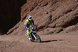Dakar Stage report Pedrero crash rounds a dismal stage 10 for Sherco TVS