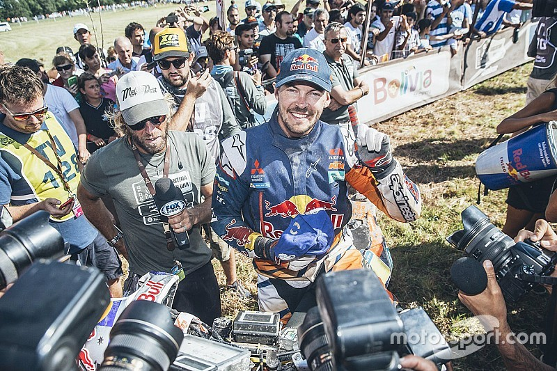 Toby Price 'in shock' na Dakar-zege
