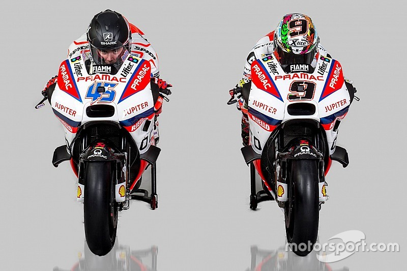 Pramac Ducati unveils 2016 MotoGP bike