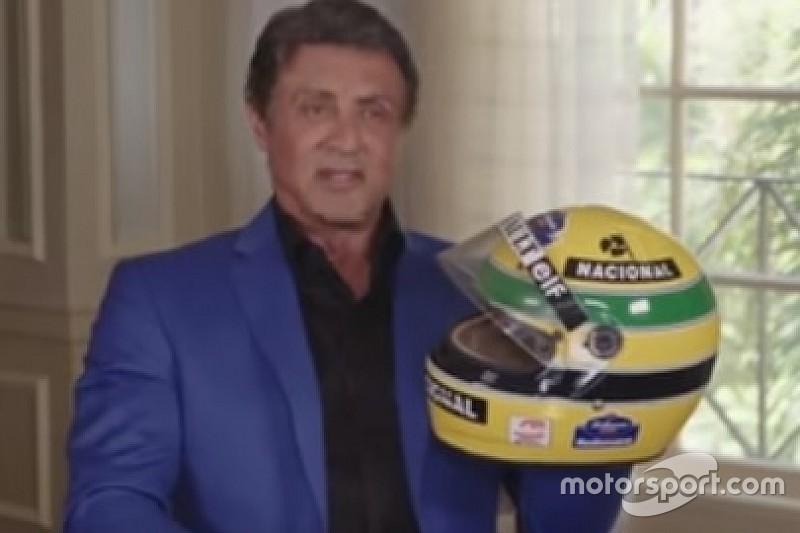 Senna me queria para fazer filme de sua vida, conta Stallone