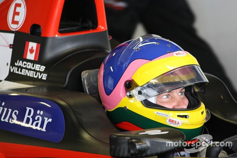 Villeneuve: No plans after Formula E exit