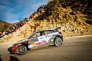 WRC Ultime notizie Subito a podio la nuova i20 WRC 2016 con Neuville