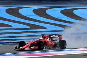 Formula 1 Test Ricard, Day 1: 1000 km percorsi con 10 tipi di rain