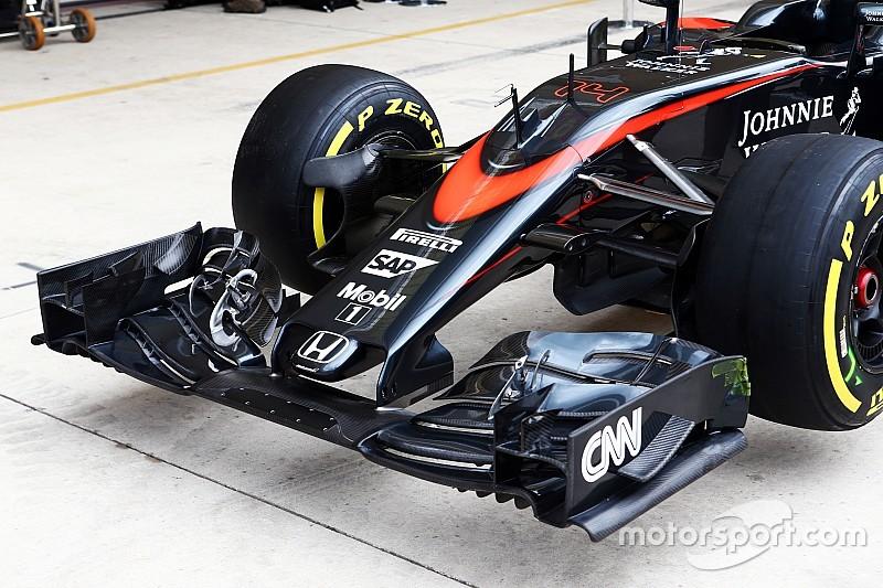 Nieuwe McLaren MP4-31 geslaagd voor crashtests