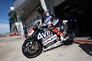 MotoGP Test Baz a terra ad oltre 250 km/h per una gomma ko