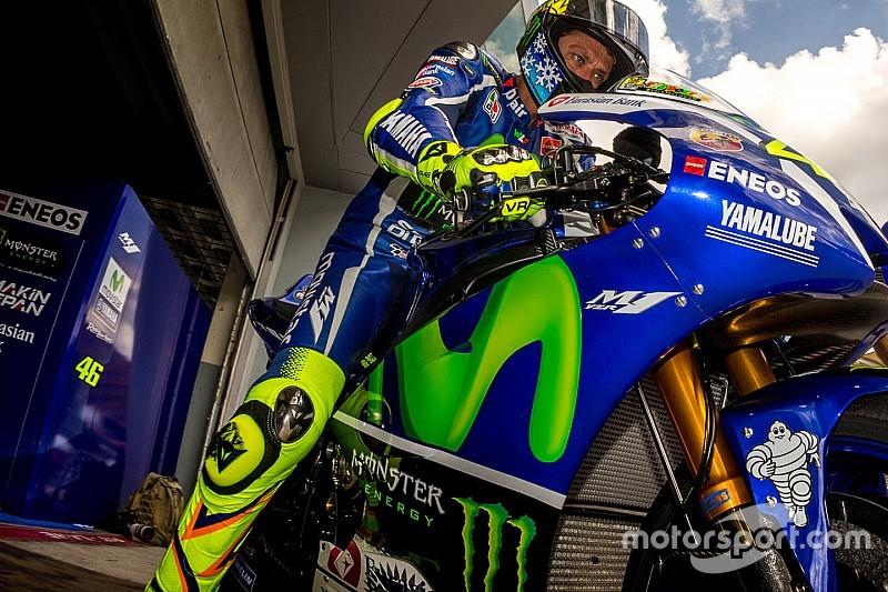 """Lorenzo es muy rápido"", dice Valentino Rossi"