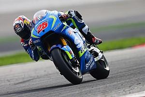 MotoGP Test Suzuki soddisfatta del nuovo motore e del seamless