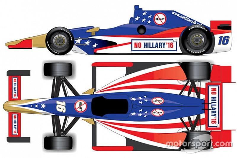 Grupo anti-Hillary Clinton quer patrocinar carro na Indy 500