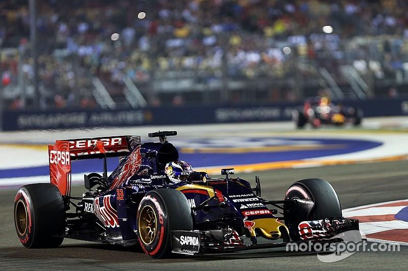 Toro Rosso start Ferrari-motor