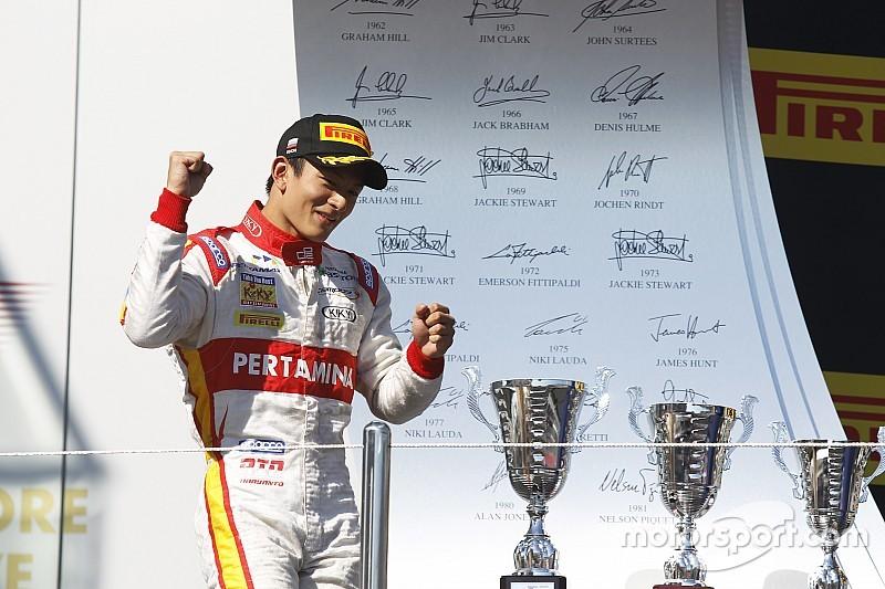 印尼车手哈里恩多(Rio Haryanto)周四宣布F1计划