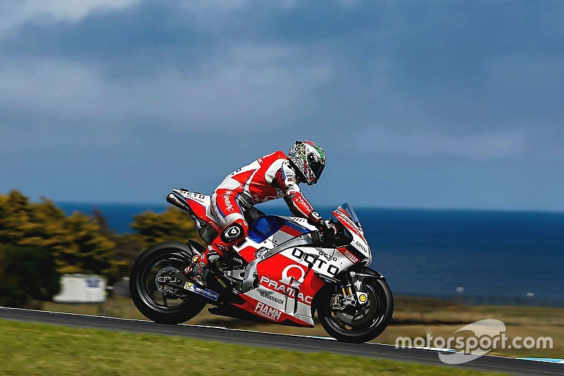 Petrucci 在MotoGP菲利普岛测试受伤