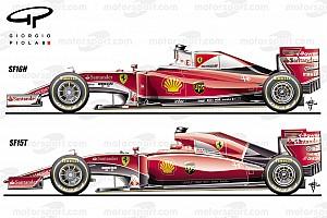 Formula 1 Ultime notizie Analisi tecnica Ferrari: ecco la SF16-H alla prova del... nove