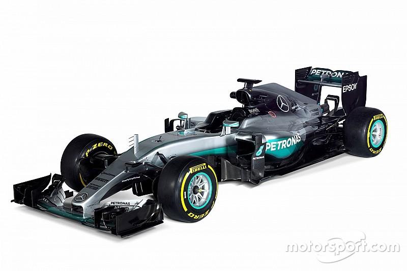 梅赛德斯F1赛车正式曝光
