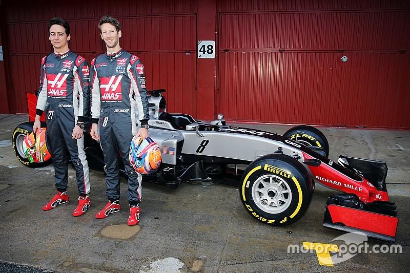 Haas toont eerste Formule 1-wagen in volle glorie