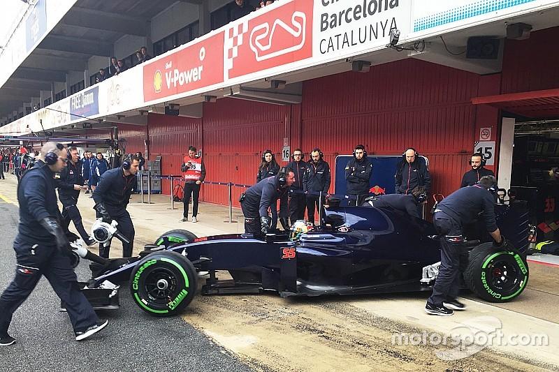Toro Rosso onthult STR11 met donkerblauwe testlivery