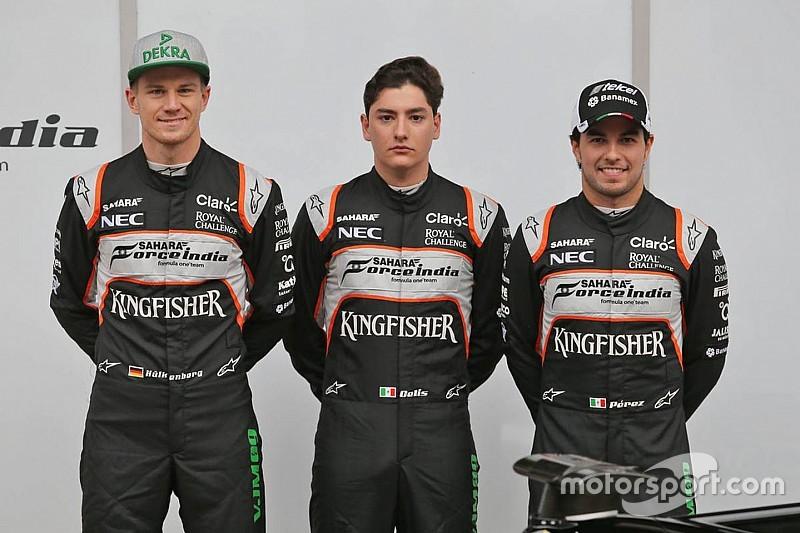 """""""Não é o ideal"""", diz dupla da Force India trocada por novato"""