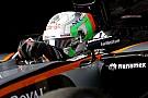 Force India-tester Celis Jr. in zijn nopjes met vijfde plek in tijdenlijst