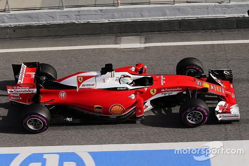 El coche suena un poco más como un Fórmula Uno, dice Vettel