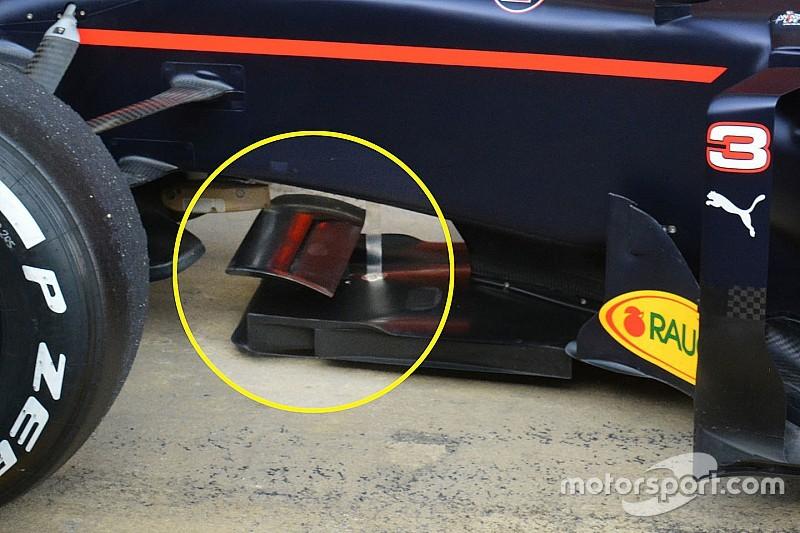 Red Bull: la Bat wing sulla RB12 è sul T-tray