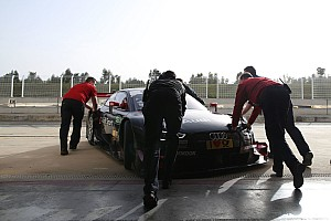 DTM Testbericht DTM-Test in Monteblanco: Audi vor Mercedes und BMW