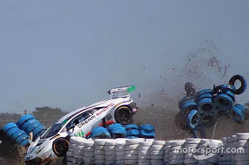 Test 12 Ore di Sebring: Lamborghini in pista con tre squadre