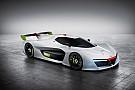 Krachtige waterstofracer van Pininfarina en Green GT