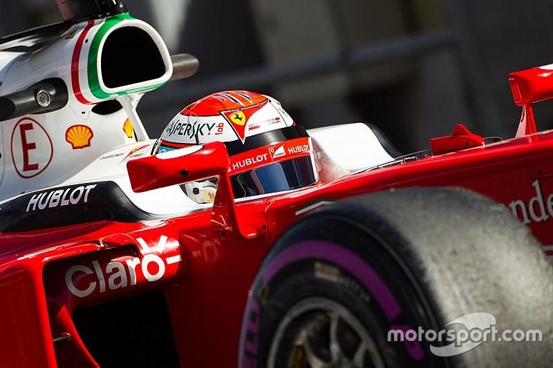 Raikkonen se mantuvo con el mejor tiempo y Haas tuvo más problemas
