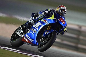 MotoGP Testing report Vinales stars again to top day two in Qatar as Marquez falls