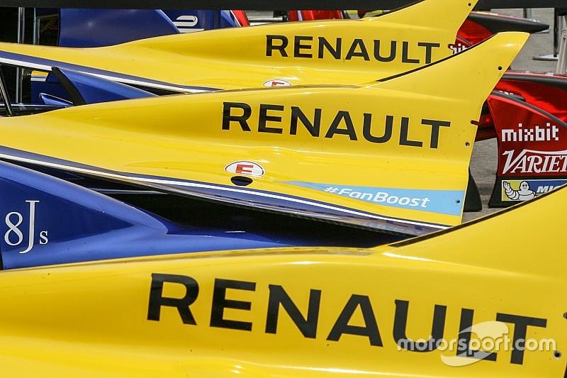 Forniture Renault ai clienti dalla terza stagione di F.E