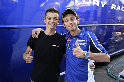 """Luca Marini: """"Being Valentino's half-brother helps me a lot"""""""