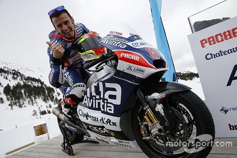 """Barberá: """"He estado delante en 125 y dos y medio, no sería raro hacerlo en MotoGP"""""""