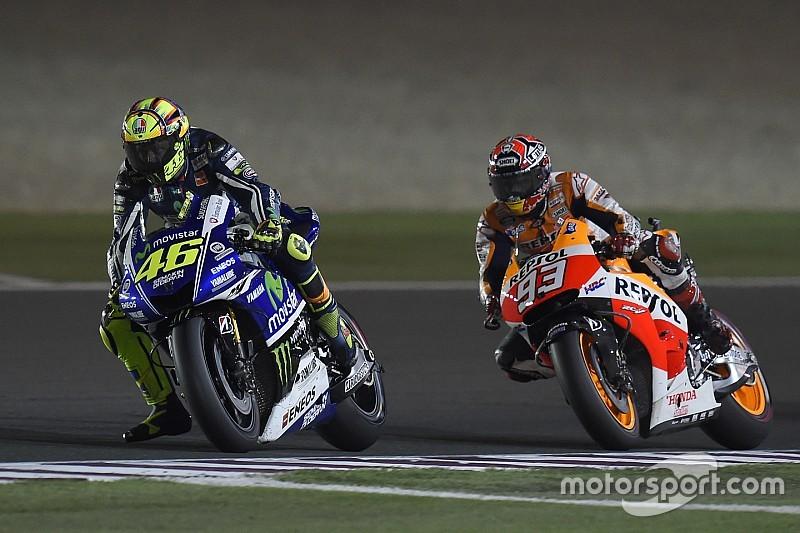 Rossi verwacht 'niets bijzonders' tussen hem en Marquez