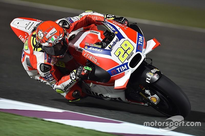 Ducati-rijders denken dat zege in Qatar binnen bereik is