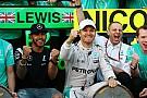 Rosberg prijst bandengok Mercedes: