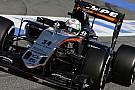 Alfonso Celis Jr in pista nelle libere in Bahrain con la Force India