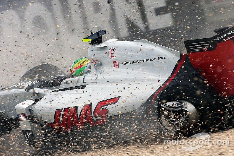 """Gutierrez: """"In Australia il telaio della mia Haas lo ha rotto la gru"""""""
