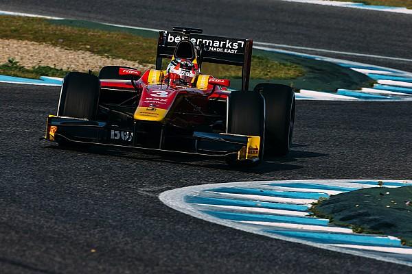 Nato snelste op laatste GP2-testdag in Jerez, De Jong veertiende
